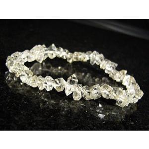★完売御礼★ハーキマーダイヤモンド/天然石ブレスレット/1点もの|again