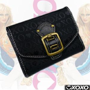 EVERY DAY LUXURY♪今若い女性に大人気!!『セクシー&ラグジー』XOXO=キスキス=2つ折財布|again