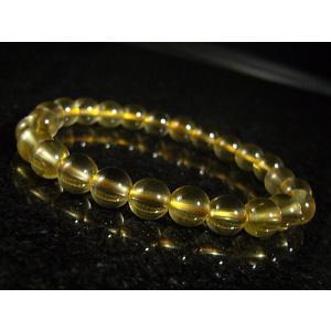 ★完売御礼★ゴールデン水晶/ゴールデンヒーラー/天然石パワーストーンブレスレット/7mm/1点もの|again