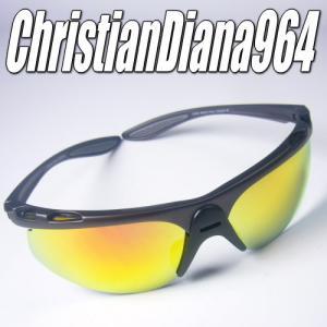 スノーボード&ゴルフに&バイク用に!AGAINスポーツモデル=Christian Diana964≪BLACK CROSS ブラック・クロス≫|again