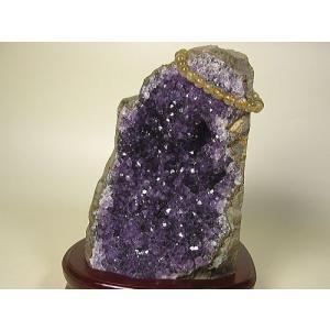 アメジストクラスター(ウルグアイ産)≪一点もの≫天然石置物インテリア|again
