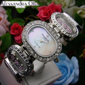 ランキング1位178回♪【スワロ&シェル】「ALESSANDRA OLLA」アレサンドラオーラレディース腕時計★円高還元|again