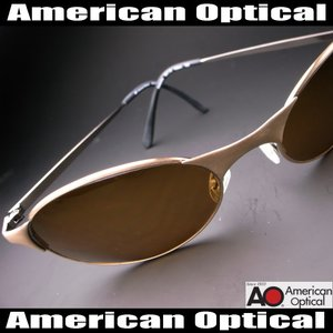レイバン原型≪アメリカ空軍パイトット御用達≫American Optical サングラス UV 100% カット|again