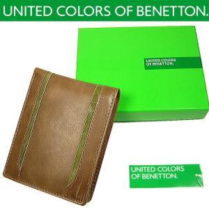 BENETTON ベネトン 二つ折り財布 again