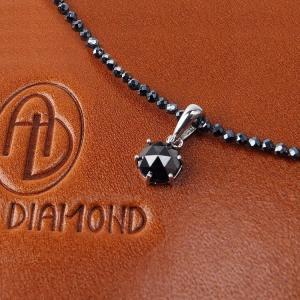23万1,482円税別→89%OFF 送料無料 51ctブラックダイヤモンド(憧れの1カラット)/グレースピネル/芦屋ダイヤモンド製/宝石ネックレス|again