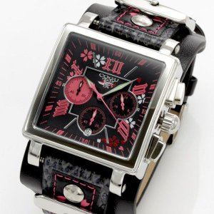≪完売御礼≫COGU ITALY(コグ イタリー) 桜 SAKURA メンズクロノグラフ腕時計|again