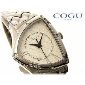 COGU ITALY(コグイタリー)レディース腕時計≪三角フェイスケース≫|again