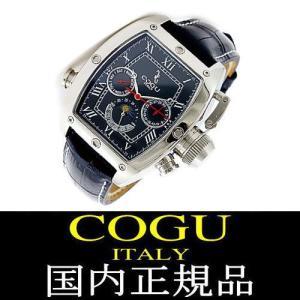 COGU ITALY コグ イタリー 腕時計 国内正規品 サン&ムーン 機械式腕時計 自動巻き|again
