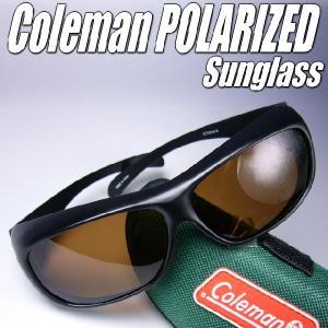 めがねの上から装着 Colemanコールマン偏光サングラス|again
