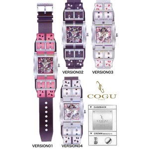 ★完売御礼★新モデル!桜COGU ITALY(コグイタリー)腕時計≪スクエア≫オートマチック|again