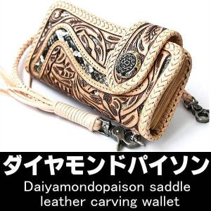 ダイヤモンドパイソン/革の宝石/ダイヤモンドパイソンサドルレザー/透かし彫り/高級長財布|again