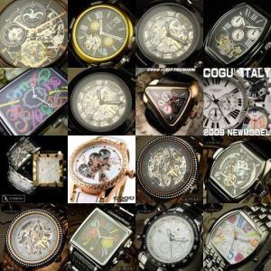 ★2015年福袋★送料無料!ブランド腕時計2本にブラックルチル・パワーストーンのおまけ付き|again
