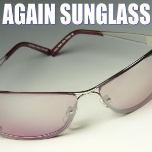 送料無料 イタリーデザインAGAINサングラス/サングラス メンズ UV カット PR30|again