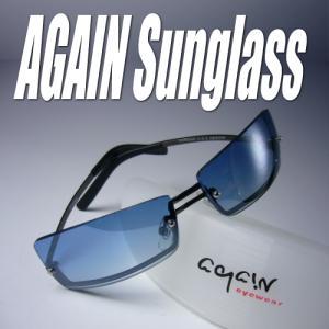 ≪完売御礼≫AGAINアゲイン/サングラス メンズ UV 100% カット|again