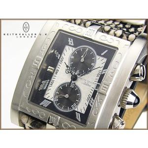 ★完売御礼★KEITH VALLER/キースバリー/クロノグラフ腕時計|again
