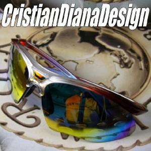AGAINスポーツモデル=Christian Diana Design=≪Ruby Rainbow ルビー・レインボー≫スノーボード&ゴルフに&バイク用に!|again