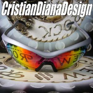 AGAINスポーツモデル=Christian Diana Design=≪Silver Wing シルバー・ウイング≫スノーボード&ゴルフに&バイク用に!|again