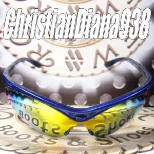 AGAINスポーツモデル=Christian Diana 938=≪Blue Wave ブルー・ウェーブ≫スノーボード&ゴルフに&バイク用に!|again