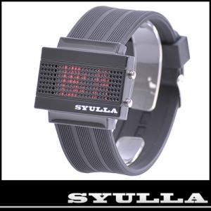SYULLA (シュラ)★シリコンリストバンドウォッチ★LED腕時計!|again