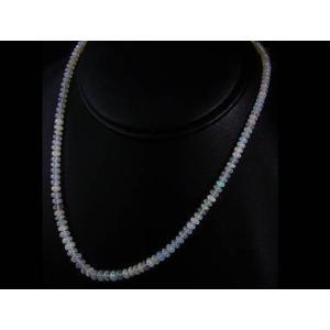エチオピアオパール天然宝石宝石ジュエリーネックレス/芦屋ダイヤモンド正規品|again