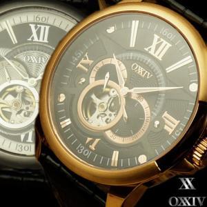 =OXXIV=オクシブ テンプスケルトン 腕時計 限定プレミアムモデル 生産中止 もうどこにも売っていません again