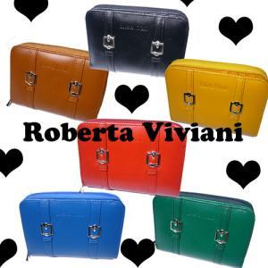 Roberta Viviani二つ折り財布★WラインRV2006★|again