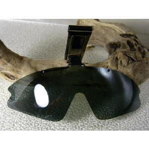 帽子に装着!普通レンズは売ってますが・・偏光レンズが欲しかった!=視泉堂 冒険王=偏光サングラス|again