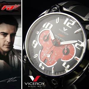 ≪完売御礼≫フェラーリF1ドライバー【フェルナンド アロンソ腕時計】VICEROY≪バーセロイは、FCバルセロナの公式スポンサーです≫★【F1マシンモデル】|again