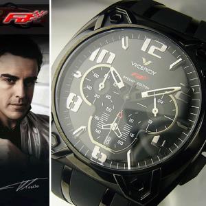 ★完売御礼★フェラーリF1ドライバー【フェルナンド アロンソ腕時計】VICEROY≪バーセロイは、FCバルセロナの公式スポンサーです≫★【F1マシンモデル】|again