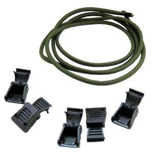 メール便送料無料 ジッパープレート補修 ジッパープルキット 4mm グリーン ZP-01 ウエストツール|againtool