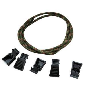 メール便送料無料 ジッパープレート補修 ジッパープルキット 4mm グリーンカモ ZP-02 ウエストツール|againtool