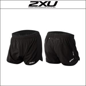 2XU【ツータイムズユー】men's モーメンタム 3inch ショーツ(MR3741b)ブラックLサイズ|agbicycle