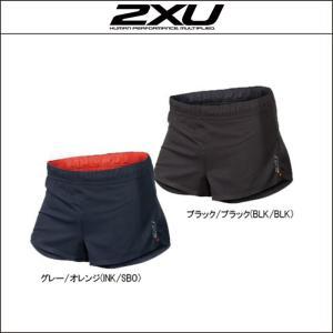 2XU【ツータイムズユー】men's ゴースト 2.5inch スプリットショーツ(MR3730b)|agbicycle