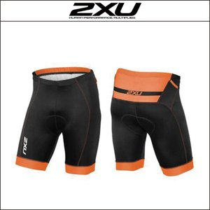 2XU【ツータイムズユー】Men's パフォーム Pro トライショーツ(MT3624b)Sサイズ|agbicycle