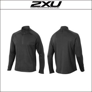 2XU【ツータイムズユー】Men's Ignition 3/4 Zip Thru Top(MR3465a)|agbicycle