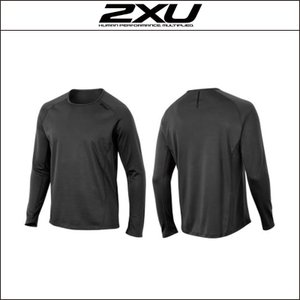 2XU【ツータイムズユー】Men's Ignition L/S Top(MR3462a)|agbicycle