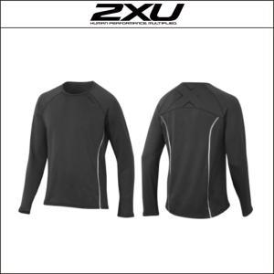 2XU【ツータイムズユー】Men's Hyoptik L/S Top(MR3445a)M|agbicycle