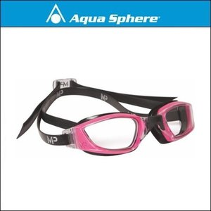 AquaSphere アクアスフィア  XCEED エクシード PINK / BLACK, CLEAR LENS|agbicycle