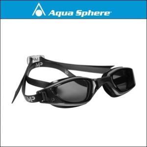 AquaSphere アクアスフィア  XCEED エクシード SILVER / BLACK, DARK LENS|agbicycle