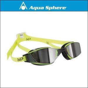 AquaSphere アクアスフィア  XCEED エクシード YELLOW / BLACK, SILVER MIRROR LENS|agbicycle