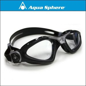 AquaSphere アクアスフィア カイエン Regular Fit[ クリアレンズ ]ブラック/シルバー 【170760】|agbicycle
