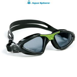 AquaSphere アクアスフィア カイエン Regular Fit[ ダークレンズ ]ブラック/グリーン 【170850】|agbicycle