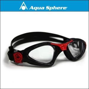 AquaSphere アクアスフィア カイエン Small Fit[ クリアレンズ ]ブラック/レッド 【170860】|agbicycle