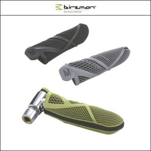 Birzman(バーズマン)  ZACOO CO2 BOTTLE SET PU GRIP フ゛ラック|agbicycle