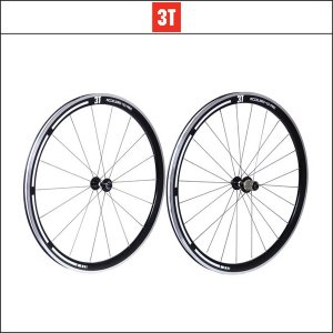 3T(スリーティー) ACCELERO PRO 40 STEALTH 700C クリンチャー 前後セット agbicycle
