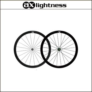 AX-Lightness P38T E チューブラーホイールセット 20/24H【前後セット】【軽量ホイール】【受注発注】|agbicycle