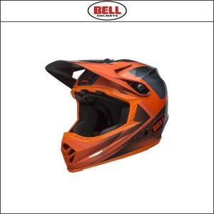 BELL【ベル】  FULL-9 フルナイン スレート/オレンジ|agbicycle