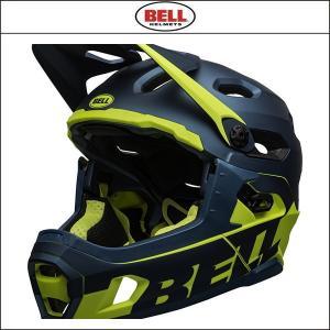 BELL【ベル】  SUPER DH MIPS スーパー DH ミップス  ブルー/ハイヴィズ|agbicycle