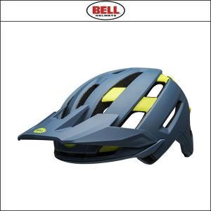 BELL【ベル】  SUPER AIR MIPS スーパー AIR ミップス  ブルー/ハイヴィズ|agbicycle