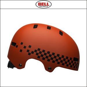 BELL【ベル】  SPAN スパン マット レッド/ブラック チェック|agbicycle